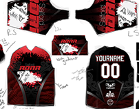 University of Salford Paintball Society Branding
