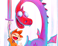 Multicolor Dragon