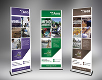 AGQ - Mining and Bioenergy Banners Design
