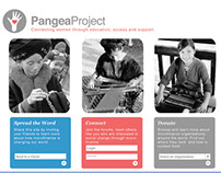 Pangea Project Website Concept