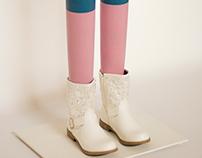 Legs - Artworks installation