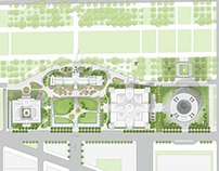 Smithsonian South Campus Masterplan