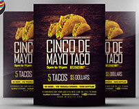 Cinco De Mayo Special Flyer Template