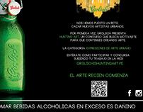 Aviso Concurso Hunting Art Grolsch Perú