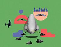 2D Animation: Nostril Corks
