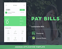 PAY BILLS Android Template