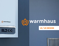 Warmhaus Official Web Site Design