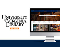 UI/UX | U.Va Library Page Redesign