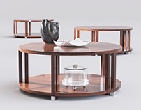 FREE 3D model Bolier Atelier Round Cocktail Table