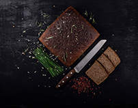 "Food Photography / ""Vilniaus duona"""