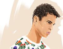 Fashion illustration for SOGO