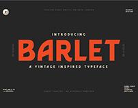 Barlet Vintage Font Sample