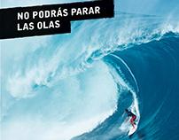 Publicidad Dos padres / Asa en Revista Surfista