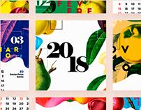 Calendário 2018 | Fruteira Sacolão