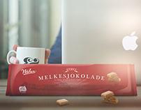 (Fiktiv) Nidar Melkesjokolade