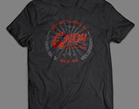 Q104 Radio t-shirt