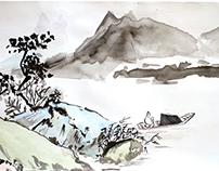Рисунок, пастель, акварель