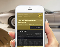LAMBORGHINI MUSEUM ∫ Ticketing Web site Concept
