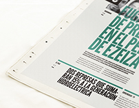 Manifesto · Newspaper Design