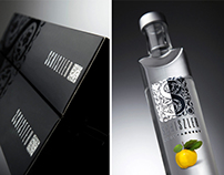 Schiszler Pálinka bottle and brand identity design