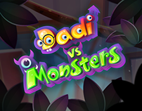 Dadi-VS-Monster-2DGame Art