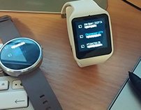 Android Wear prototype