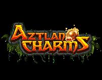 Aztlan Charms game logo