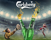 "Carlsberg ""Big shot"" Advertising"
