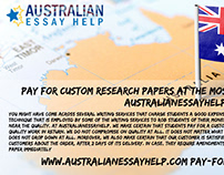 Research Paper writing service is really common in aust