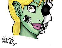 Valerie the Zombie Girl