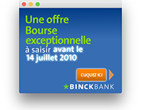 Flash banners kit - BINCK Bank