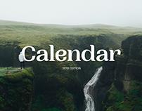 Calendar — 2019