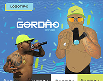 Social Media 2016   MC GORDÃO DA VSB
