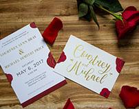 Bray-Price Wedding Invitation