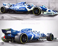 Ford F1 Racing 2021 Concept