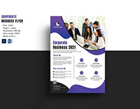 Clean & Minimal Business Flyer