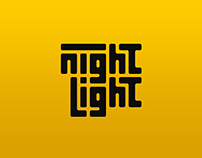 Night Light Logo Process and Mock-Ups