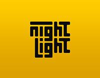 Night Light Logo Process and Mock-Ups