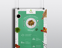 Poster design for Healthy ready