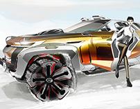 GAC China Wild West Concept