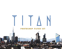 Titan Photoshop Filter Set