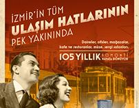 Mahall Bomonti Izmir Retro Campaign 2017