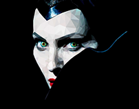 Maleficent - Low Poly