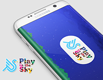 Play To the Sky Android App UI/UX Design