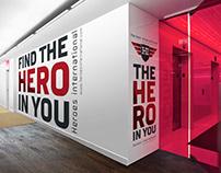 Heroes International Branding