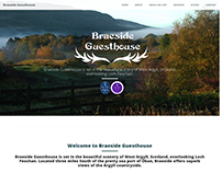 Braeside Guesthouse - Website and Logo Redesign