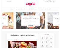 JoyFul Fashion Responsive Free Blogger Template