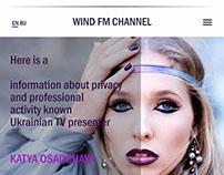 Channel radio broadcasting