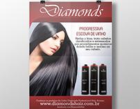 Banners de Produtos da Diamonds Hair