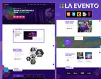 La Evento - Event, Conference & Meetup HTML Template